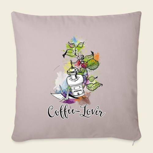Coffee-Lover - Sofakissenbezug 44 x 44 cm