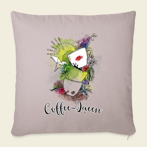 Coffee-Queen - Sofakissenbezug 44 x 44 cm