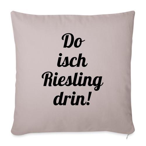 Do isch Riesling drin! - Sofakissenbezug 44 x 44 cm