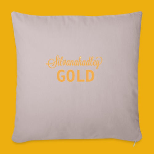 Silvana hadley Gold merch - Sofa pillowcase 17,3'' x 17,3'' (45 x 45 cm)