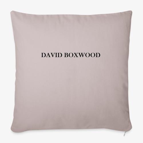 DAVID BOXWOOD - Copricuscino per divano, 45 x 45 cm