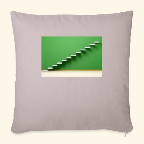 T-Shirts green steps - Sierkussenhoes, 45 x 45 cm