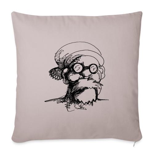 Santa Sketch - Sofa pillowcase 17,3'' x 17,3'' (45 x 45 cm)