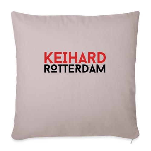 Keihard Rotterdam - Sierkussenhoes, 45 x 45 cm