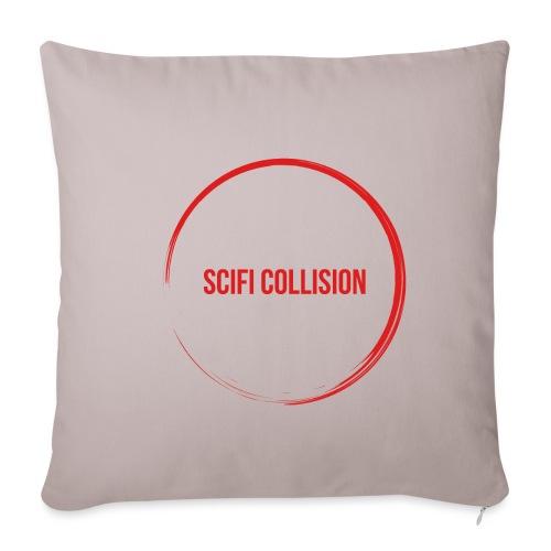 Red Logo - Sofa pillowcase 17,3'' x 17,3'' (45 x 45 cm)