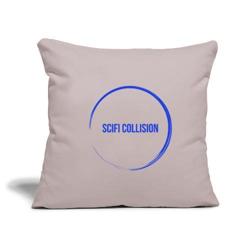 Dark Blue Logo - Sofa pillowcase 17,3'' x 17,3'' (45 x 45 cm)