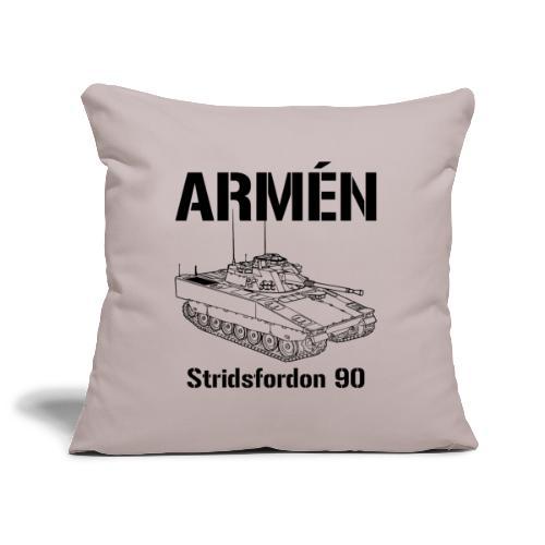 Armén Stridsfordon 9040 - Soffkuddsöverdrag, 45 x 45 cm