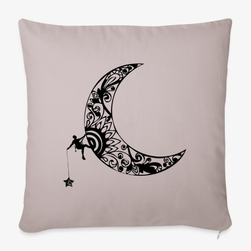 Luna - climb to the stars - Sofa pillowcase 17,3'' x 17,3'' (45 x 45 cm)