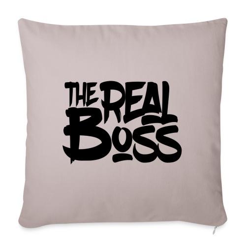 The real boss / Le vrai patron - Housse de coussin décorative 45x 45cm