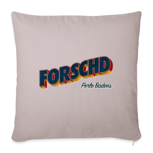 Forschd - Perle Badens - Vintage Logo ohne Bild - Sofakissenbezug 44 x 44 cm