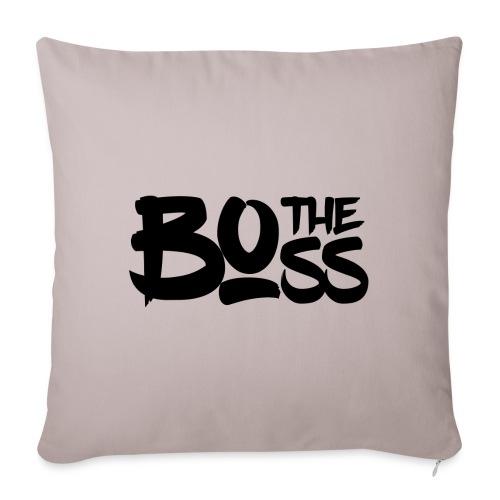 The boss / Le patron - Housse de coussin décorative 45x 45cm
