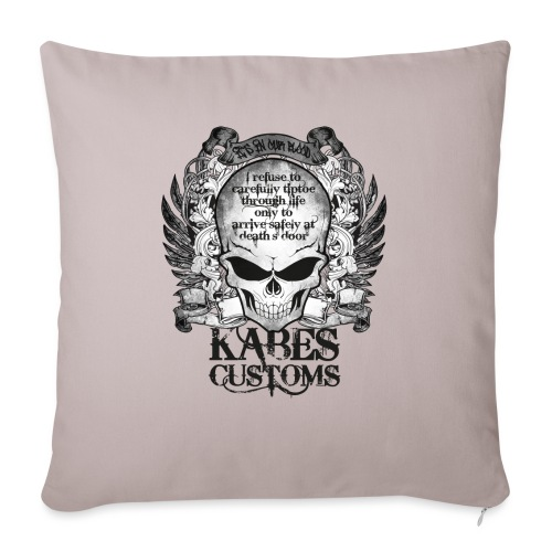 Kabes Tiptoe T-Shirt - Sofa pillowcase 17,3'' x 17,3'' (45 x 45 cm)