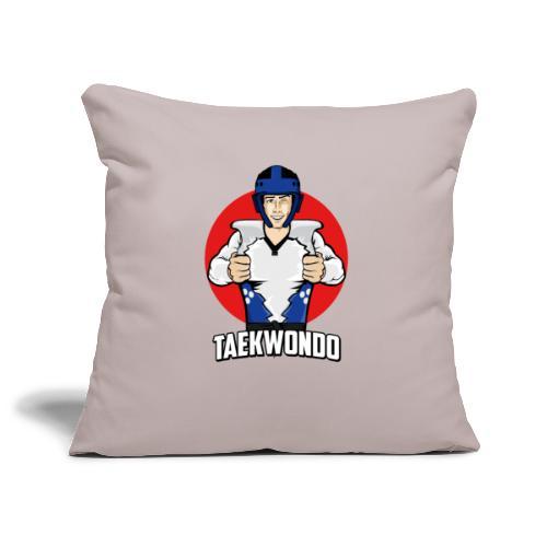Nouveau Design Taekwondo Dessin Animé Cartoon - Housse de coussin décorative 45x 45cm