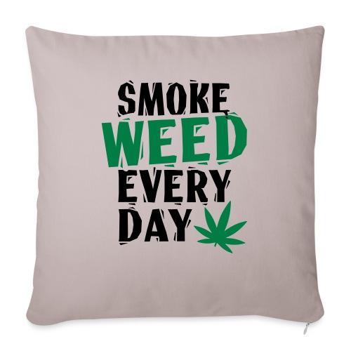 Smoke Weed Everyday Linovert - Housse de coussin décorative 45x 45cm