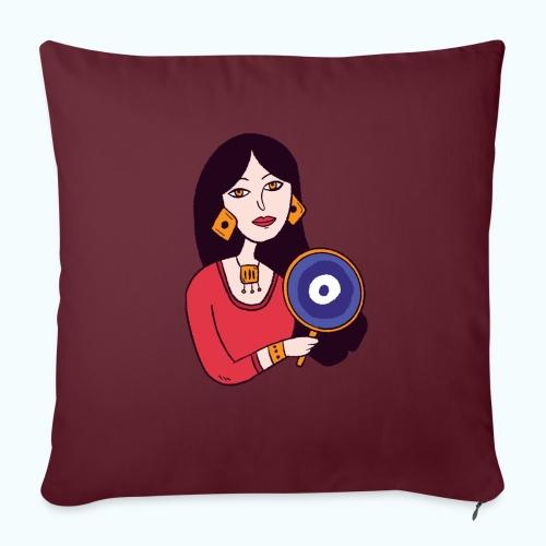 Fashion Girl - Sofa pillowcase 17,3'' x 17,3'' (45 x 45 cm)