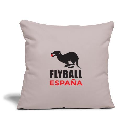 Flyball españa - Funda de cojín, 45 x 45 cm