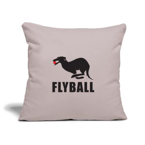 Flyball - Funda de cojín, 45 x 45 cm