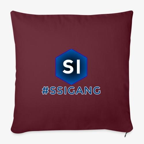 SSI GANG - Housse de coussin décorative 45x 45cm