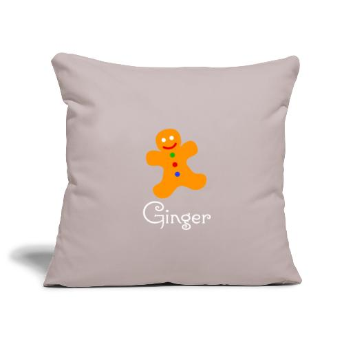 Gingerbread Man - Sofa pillowcase 17,3'' x 17,3'' (45 x 45 cm)