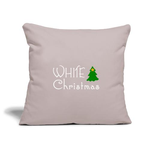White Christmas - Sofa pillowcase 17,3'' x 17,3'' (45 x 45 cm)