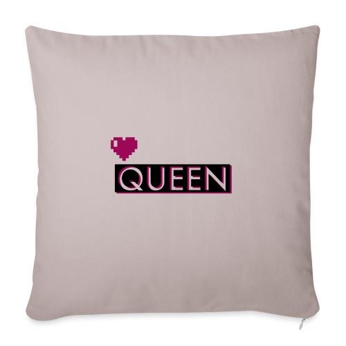 Queen, la regina - Copricuscino per divano, 45 x 45 cm