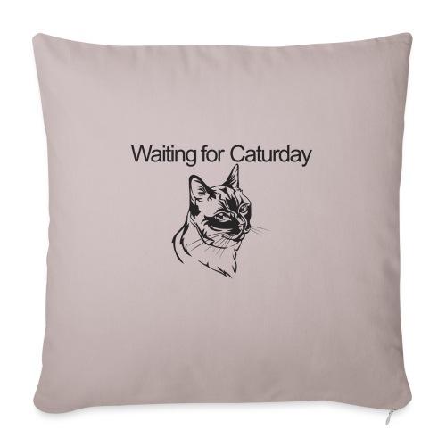 Caturday - Sofa pillowcase 17,3'' x 17,3'' (45 x 45 cm)