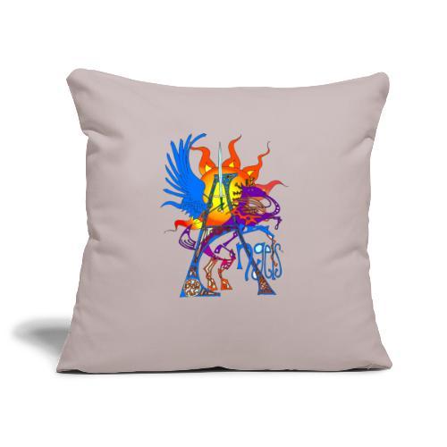 Angel Messenger - Sofa pillowcase 17,3'' x 17,3'' (45 x 45 cm)