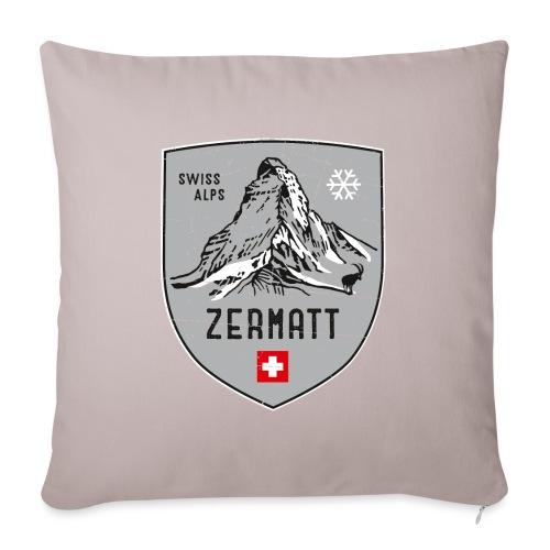 Zermatt Schweiz Wappen - Sofa pillowcase 17,3'' x 17,3'' (45 x 45 cm)