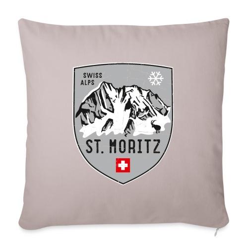 St. Moritz coat of arms - Sofa pillowcase 17,3'' x 17,3'' (45 x 45 cm)