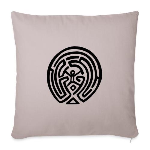 Maze_Westworld - Copricuscino per divano, 45 x 45 cm
