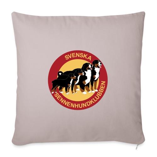 Sennenhundklubben - Soffkuddsöverdrag, 45 x 45 cm