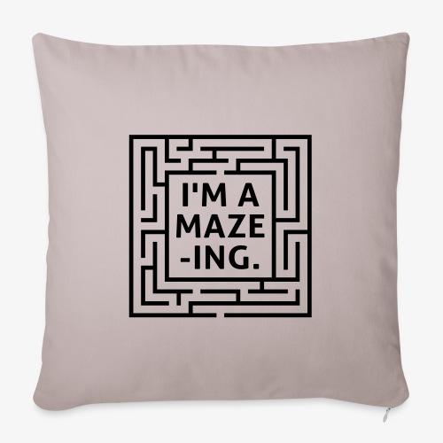 A maze -ING. Die Ingenieurs-Persönlichkeit. - Sofakissenbezug 44 x 44 cm