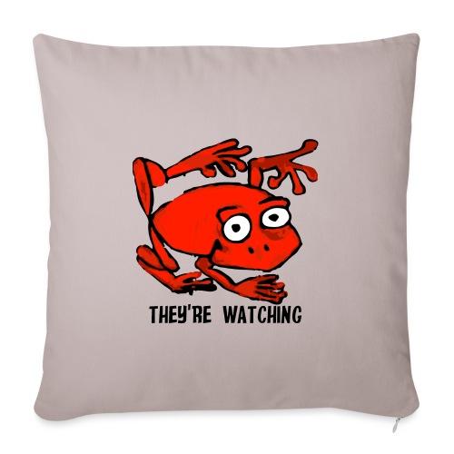 red frog - Copricuscino per divano, 45 x 45 cm