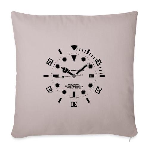Submarine Luxury Watch Dial Details - Sofa pillowcase 17,3'' x 17,3'' (45 x 45 cm)