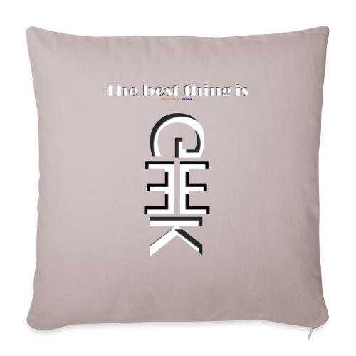 GEEK TSHIRT - Housse de coussin décorative 45x 45cm