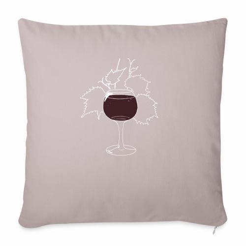 Wine is fine - Housse de coussin décorative 45x 45cm