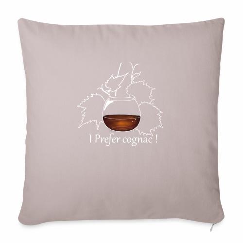 cognac - Housse de coussin décorative 45x 45cm