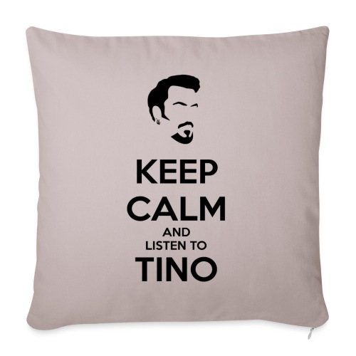 Keep Calm Tino - Funda de cojín, 45 x 45 cm