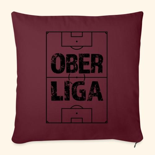 OBERLIGA im Fußballfeld - Sofakissenbezug 44 x 44 cm