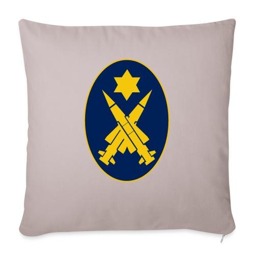 Missile Oval - Sofa pillowcase 17,3'' x 17,3'' (45 x 45 cm)