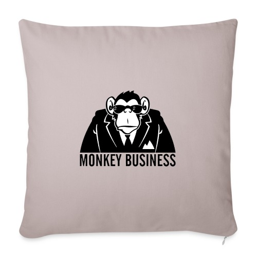 Monkey Business - Copricuscino per divano, 45 x 45 cm