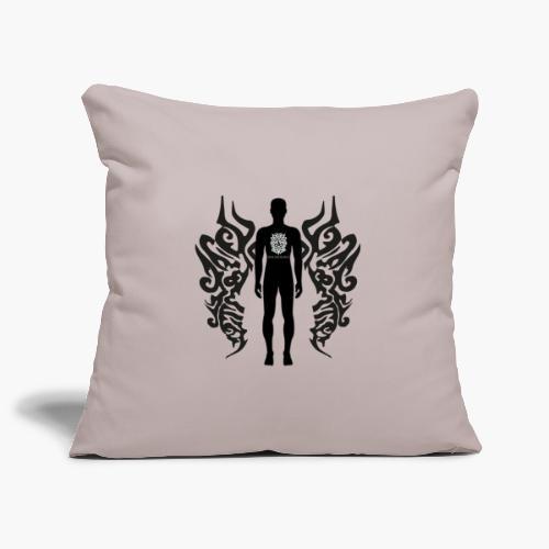 Houseology Original - Angel of Music (INVERSE) - Sofa pillowcase 17,3'' x 17,3'' (45 x 45 cm)