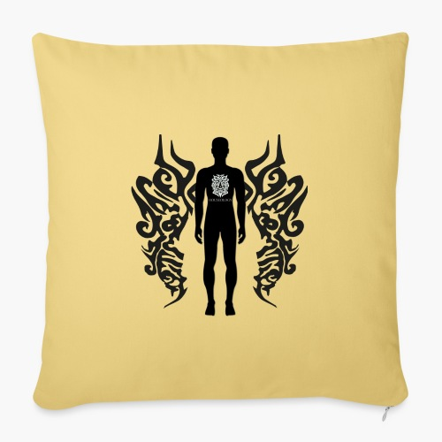 Houseology Original - Angel of Music (INVERSE) - Sofa pillowcase 17,3'' x 17,3'' (45 x 45 cm)