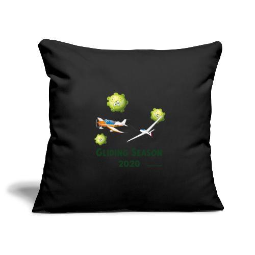 Gliding Season 2020 - drag - Sofa pillowcase 17,3'' x 17,3'' (45 x 45 cm)