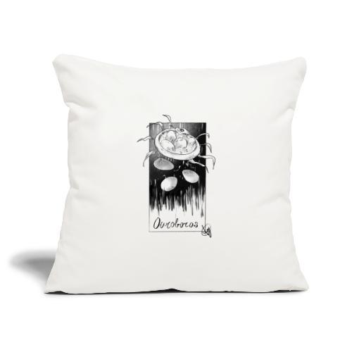 Uroboro - Copricuscino per divano, 45 x 45 cm