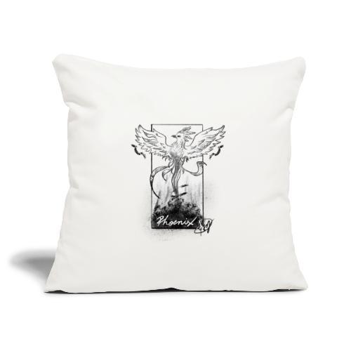 Fenice - Copricuscino per divano, 45 x 45 cm