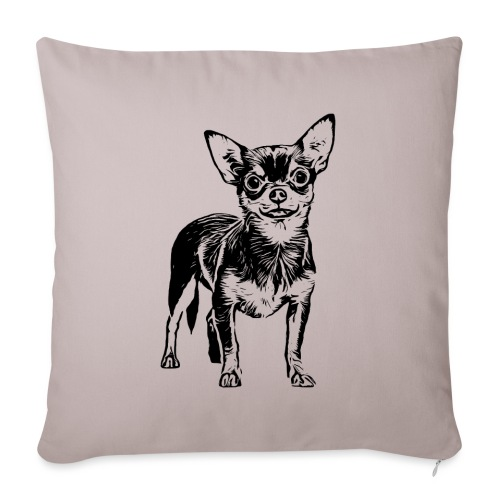 Chihuahua Hunde Design Geschenkidee - Sofakissenbezug 44 x 44 cm