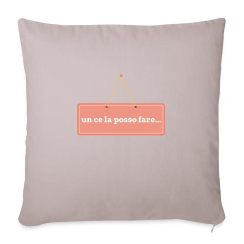 un ce la posso fare - Copricuscino per divano, 45 x 45 cm