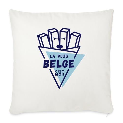La+Belge - Housse de coussin décorative 45x 45cm