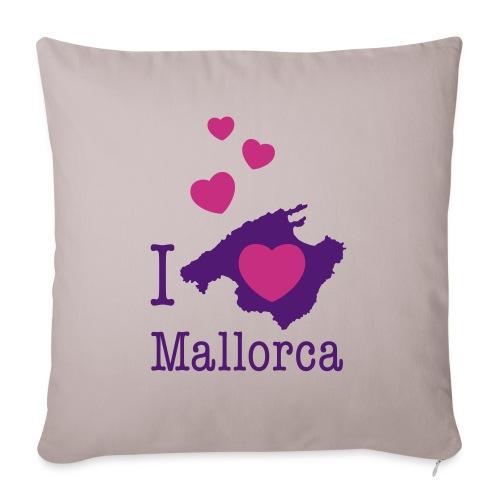 love Mallorca Balearen Spanien Ferieninsel Urlaub - Sofa pillowcase 17,3'' x 17,3'' (45 x 45 cm)